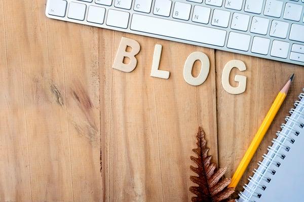 Generating blog post ideas desk