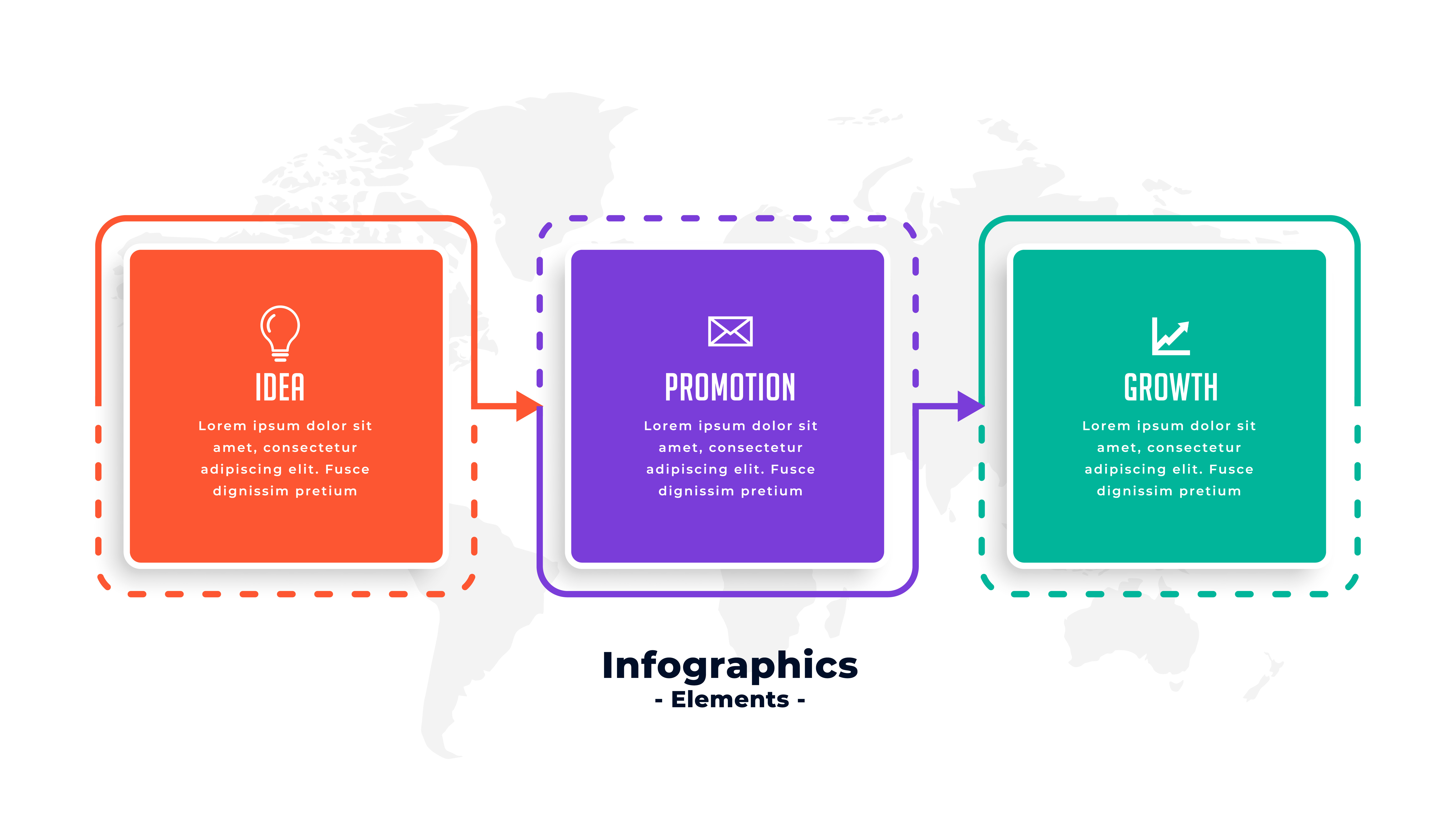 Infographic social media content