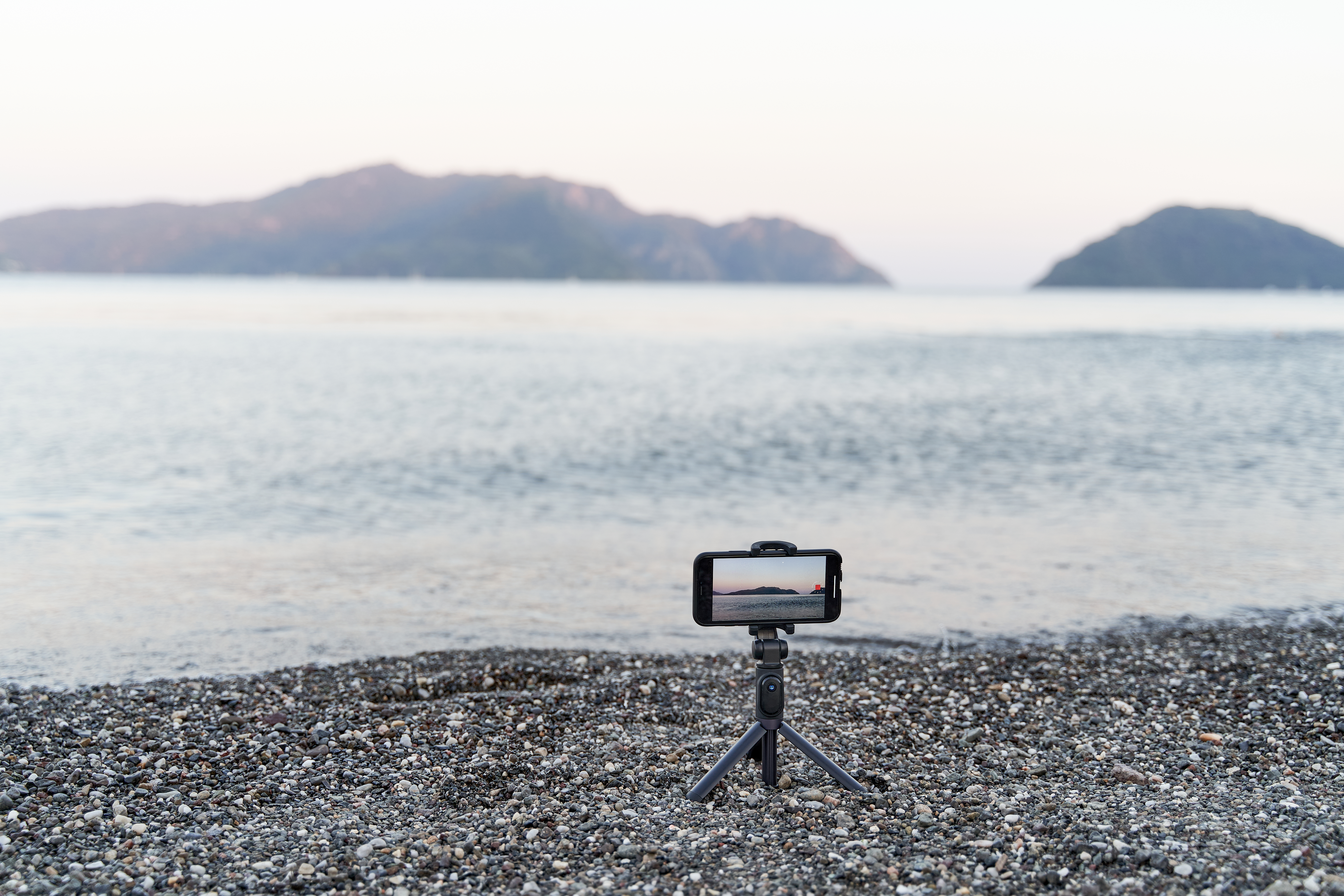 Professional photos using a tripod