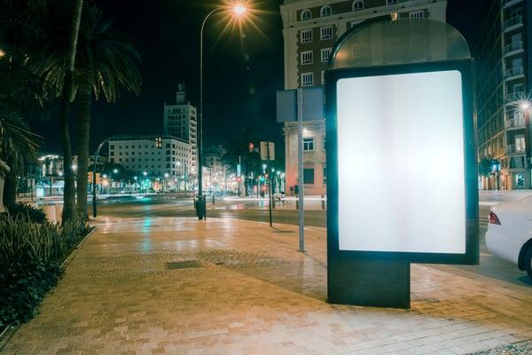 inbound vs outbound marketing billboard