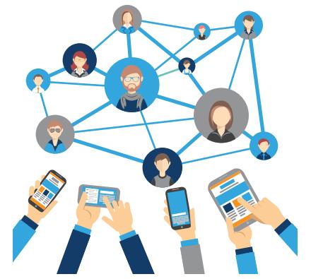 creating a website pdf social media