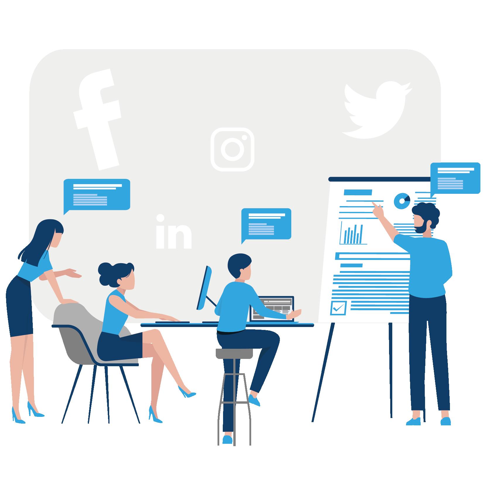 social media marketing services Training