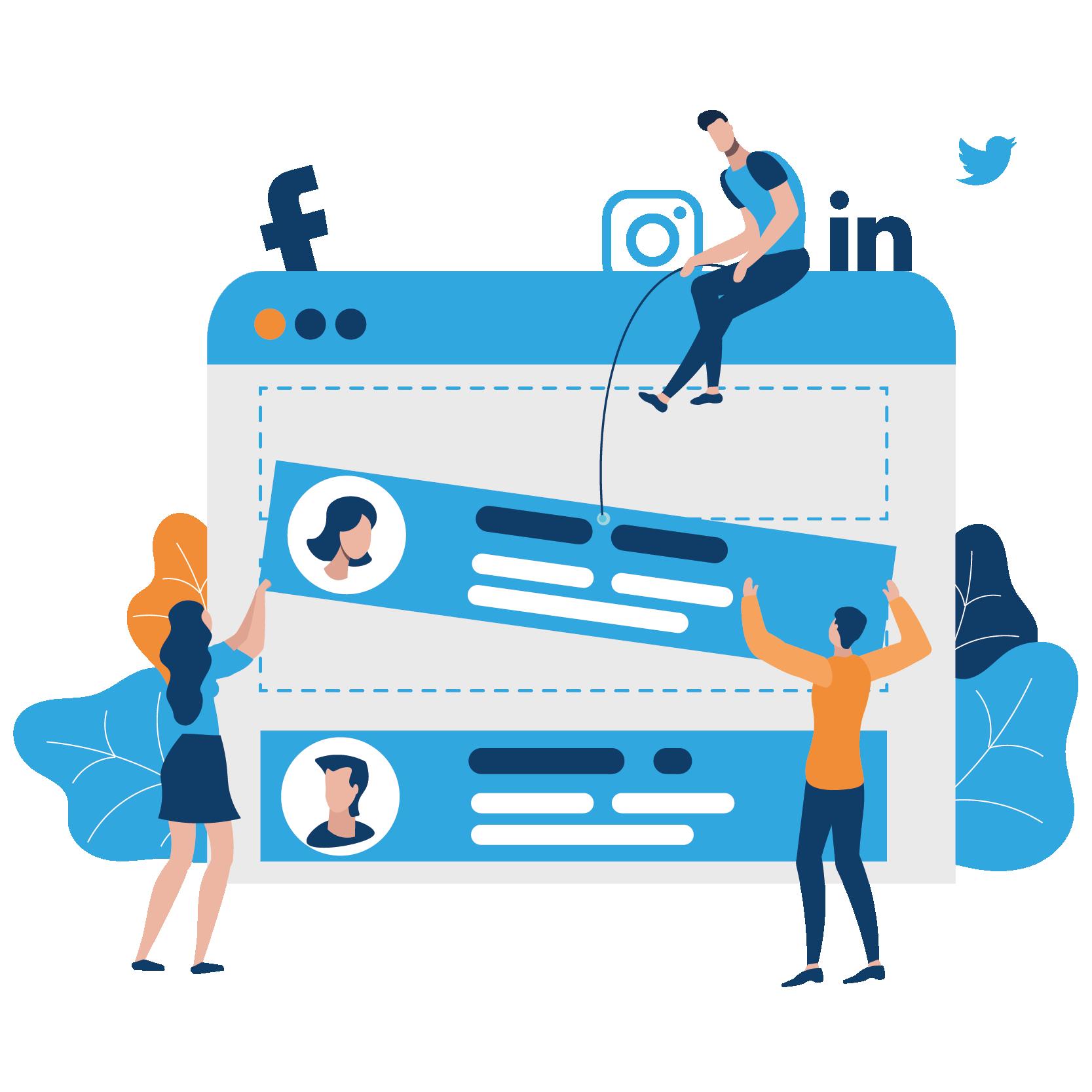 social media marketing services Unique